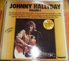 33 tour neuf JOHNNY HALLYDAY 6886 164 impact vol 4 label rouge 4 photos  RB