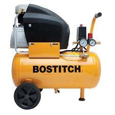 BOSTITCH Horizontal Air Compressor BTFP02006   6 GALLON + 1 year bostich waranty