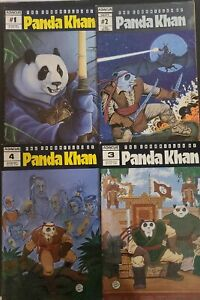 The Chronicles of Panda Khan #1,2,3,4 Abacus Press 1987