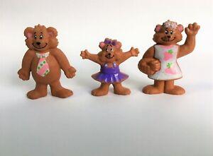 Vintage General Mills Berry Bears Fruit Snacks Figures