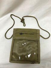 True North Tactical 2137E Coyote Tan Badge Holder Neck ID Condor Passport LBT