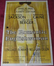 Cinema Poster: ROMANTIC ENGLISHWOMAN, THE 1975 (One Sheet) Michael Caine