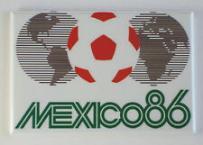 World Cup 1986 Mexico FRIDGE MAGNET (2 x 3 inches) soccer poster football