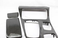 BMW F10 F11 5 Series Carbon Fiber Center Console Trim 2011 2012 2013 2014 2015+