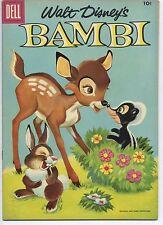DELL 1956 BAMBI FOUR COLOR COMIC #3 (VF+)