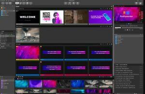 ProPresenter Pro 7 For Win & 6.5 For Mac, Create & organize presentations +BONUS