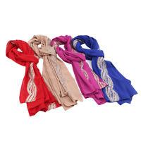 Muslim Long Soft Hijab Islamic Scarf Quality Shawl Wrap Women Headwear 6L