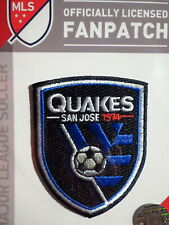 Official Embroidered MLS Soccer San Jose Earthquakes Logo Iron or Sew On Patch