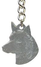 Australian Cattle Dog Pewter Key Chain, Rawcliffe Company