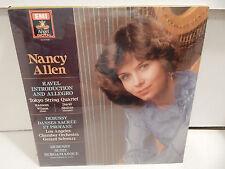 NANCY ALLEN Tokyo String Quartet Harp Concertos Debussy EMI Angel SEALED LP MINT