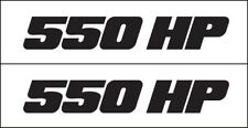 MG 2351 550 High Performance Decal / Graphic Sticker Metro Auto Graphics