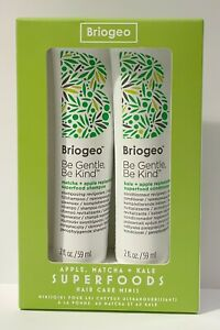 Briogeo Superfoods Hair Care Minis Set: Be Kind Be Gentle Shampoo & Conditioner