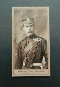 1901 American Tobacco Company ATC Boer War Series A 1 Methuen Cigarette Card VGC