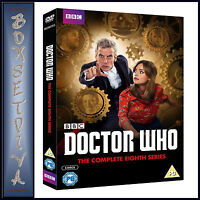 DOCTOR WHO - COMPLETE SERIES 8  **BRAND NEW DVD ****