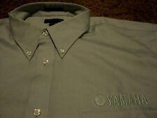 NEW Men's ~ YAMAHA ~ WaveRunner Motorcycle L/S Oxford Dress Shirt Size 18.5-36