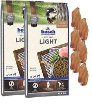 2x12,5kg Bosch Adult Light + 6 x Kaninchenohren