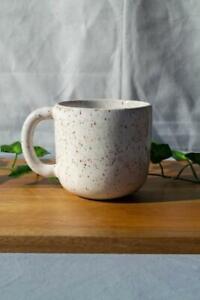 Speckled Mug - White