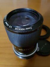 NIKON Zoom - Nikkor 43-86mm f/3,5 AI ManualFocus