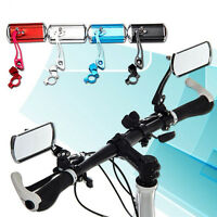 Aluminum Bike Mirror Mountain Bicycle Rearview Handlebar End Rear Back View