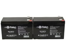 12V 9Ah Rechargeable Battery For APC BACK-UPS NS1250,NS 1250--2 Pack