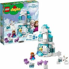LEGO DUPLO Princess Frozen Ice Castle 10899 Toddler Holiday Toy Building Set