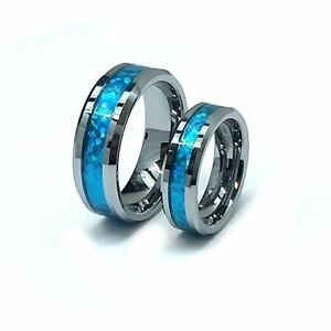His & Hers Tungsten Rings, Anniversary Rings, Promise Ring,Matching Wedding Ring