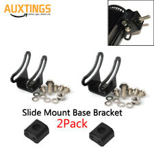 Universal Mounting Brackets LED Light Bar Slide Mount Bracket Pair Base Bracket