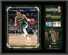 "Giannis Antetokounmpo Milwaukee Bucks 12"" x 15"" 2021 NBA Finals Item#11437490"