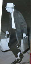 Photo de presse vintage Dalmas Danny Kaye comique américain à aéroport Bourget