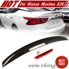 STOCK USA Painted #CAT For Nissan Maxima A36 8th OE Type Trunk Spoiler 16up