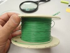 USA 100ft 26ga 26awg Silvered Copper Green Teflon TFE Solid Wire