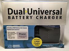 Delkin Double Battery Charger for Canon Rebel T3i with extra LP-E8 Battery