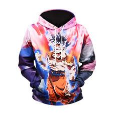 NEW Anime Dragon Ball Z Hoodies 3D Print Men's Pullover Sweatshirts Coat Cosplay