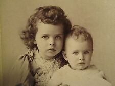 ANTIQUE 1892 NEW ORLEANS LA VAUDEVILLE BROADWAY NY CHILD ACT CABINET CARD PHOTO