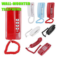 Business Wall Mount Landline Telephone Extension No Caller ID Home Phone Hotel