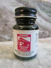 FLOQUIL RAILROAD COLORS MODEL PAINT by TESTORS - 1oz 1 OUNCE - READING GREEN