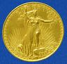 "1907 Walking Liberty 3"" Twenty Dollar Gold Piece Medallion New"