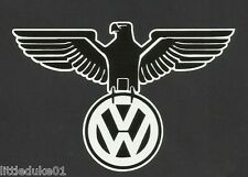 VW GERMAN EAGLE Vinyl Sticker Decal VOLKSWAGEN KOMBI CAR TRUCK SAMBA