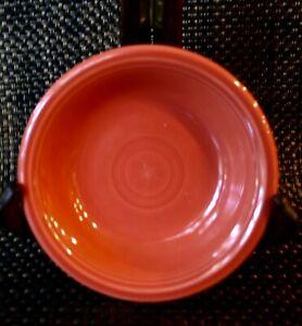 "FIESTA WARE PERSIMMON Small Fruit Bowl 5 1/4"""