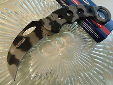 Smith & Wesson Extreme Ops Thin Urban Karambit Pocket Knife CK32C Titanium New