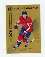 17/18 SP AUTHENTIC SPECTRUM FX GOLD #S-64 CHRISTIAN DJOOS 44/50 CAPITALS *57575