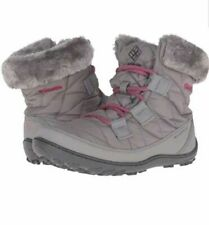 NEW! Columbia Youth Enfants Minx Shorty Omni-Heat Waterproof Snow Boots Size 1