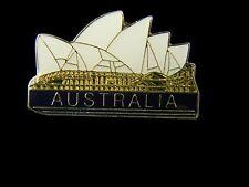 Australian Souvenir Enamel Australia Sydney Opera House Hat Pin Lapel Badge