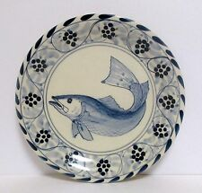 New listing 1 Davis Design Salad Plate Fish Eastern Shore Plates Nautical Nantucket Decor