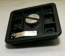 Tripod slide Plate shoe quick release 4X4cm square camera tripod pistol grip