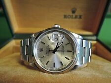 Rolex Stainless Steel Strap Luxury Polished Wristwatches