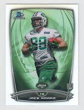 JACE AMARO 2014 Bowman Chrome Football Refractor Card #154 Jets