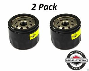 2 Pack Genuine Briggs & Stratton 842921 Oil Filter Big Block OEM