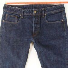 Mens G-Star 3301 STRAIGHT Straight Blue Jeans W33 L30