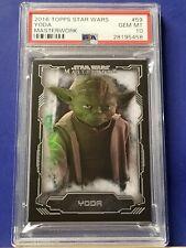 Yoda - 2016 Star Wars Masterwork #59 SP  PSA 10